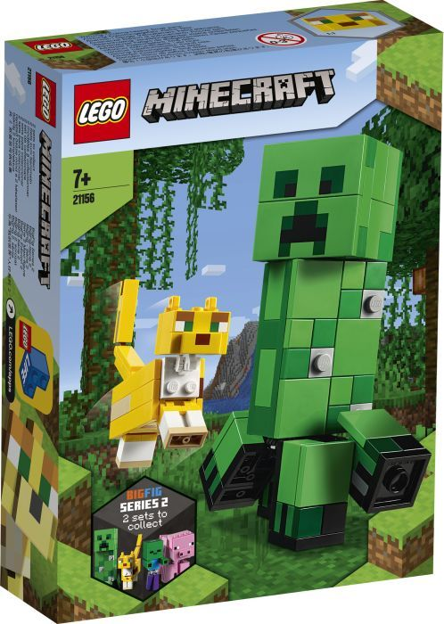 LEGO® Minecraft# 21156 BigFig Creeper# und Ozelot