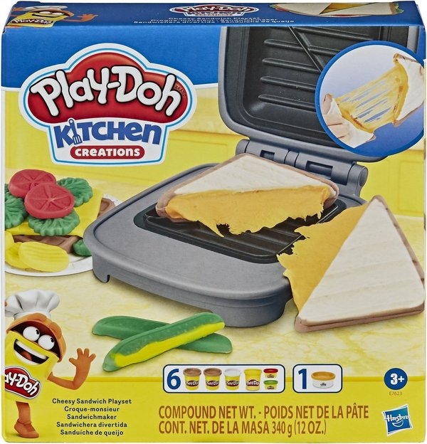 Hasbro E76235L0 Play-Doh Kitchen Creations Sandwichmaker Set