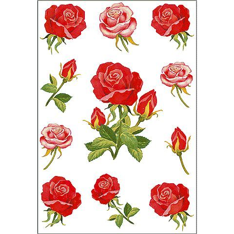 Decor-Sticker Rosen 3581 Herma